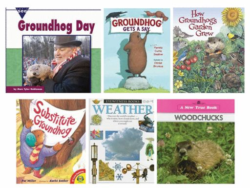 THIS WEEK IN THE LIBRARY - Groundhog Day