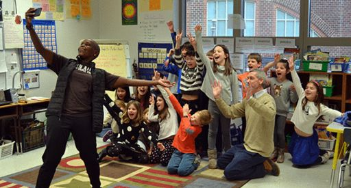 ALVIN AILEY AMERICAN DANCE THEATER VISITS ST. PATRICK'S AS PART OF GRADE 2 STUDY