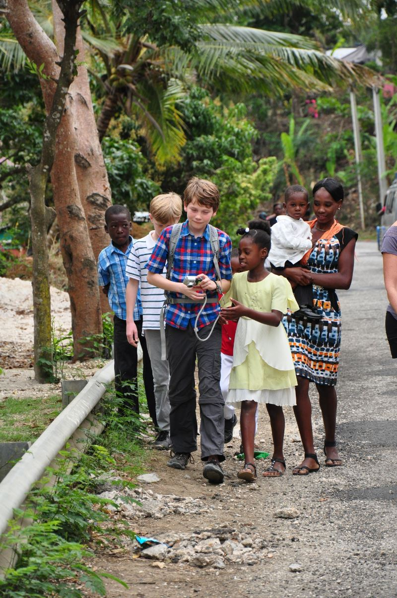 St. Patrick Episcopal School students in Haiti