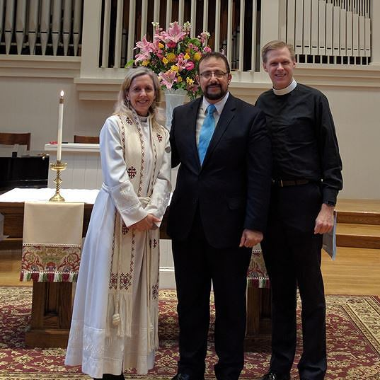 Reverend Solter, School Chaplain and Chaplain Gerhard and Georgetown University Chaplain Hendi
