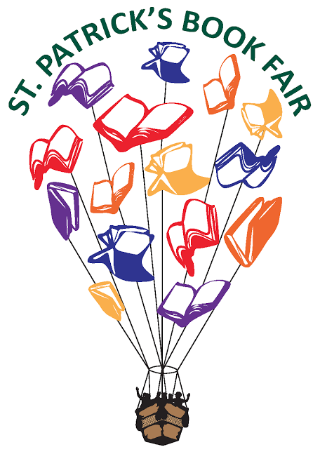 St. Patrick's book fair graphic